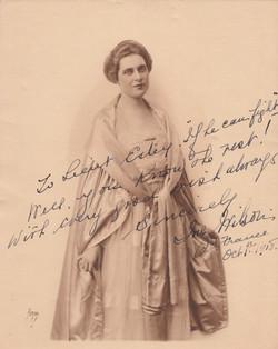 0254 Autograph for Estey Oct 1 1918
