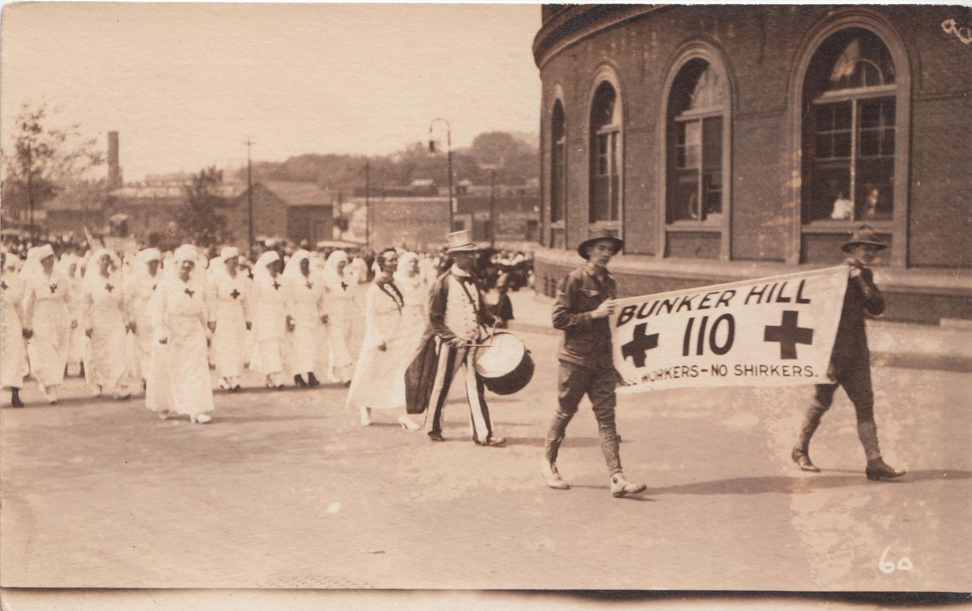 0346 Signal Hill Marchers American Postcard