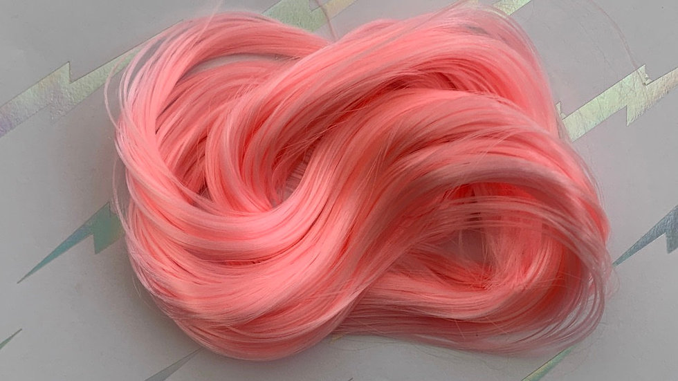HQG1C Nylon Hair - Petal Pink - For Custom Ponies