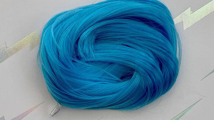 HQG1C Nylon Hair - Bright Blue - For Custom Ponies