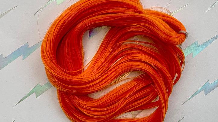 HQG1C Nylon Hair - Pumpkin Orange - For Custom Ponies
