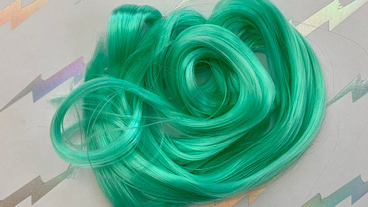 HQG1C Nylon Hair - Totally Teal - For Custom Ponies