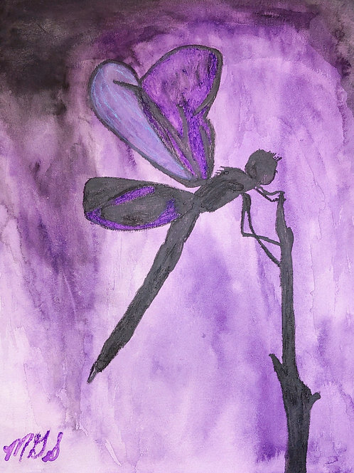 Dragonflies for Em Violet