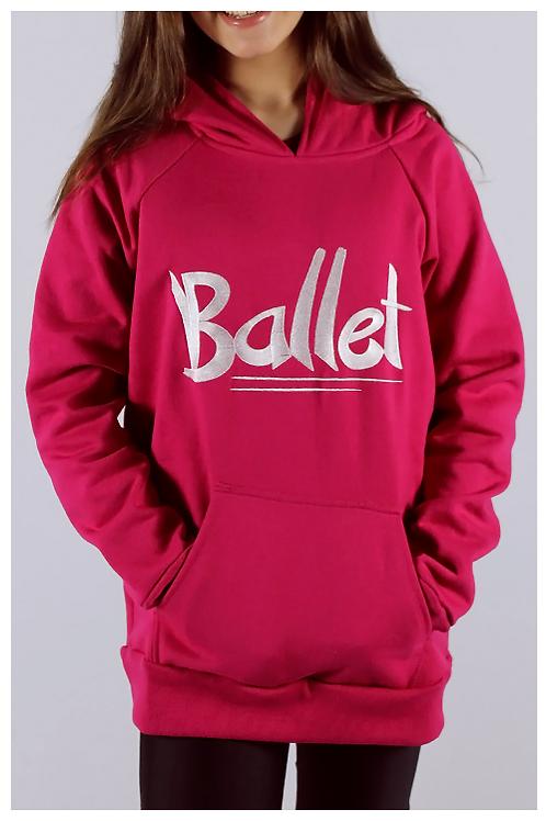 """Moletom """"Ballet"""" - Infantil"""