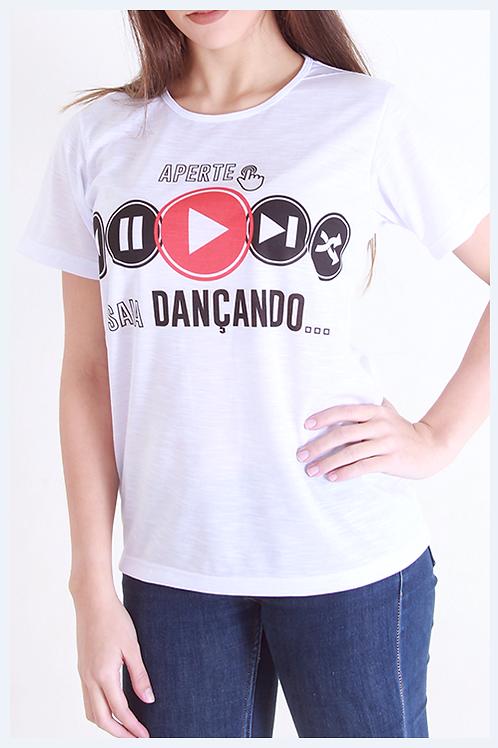 "Camiseta ""Play Dance"""