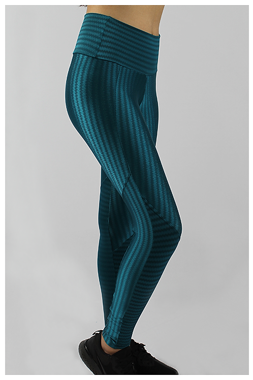 Calça Legging Recorte - Verde