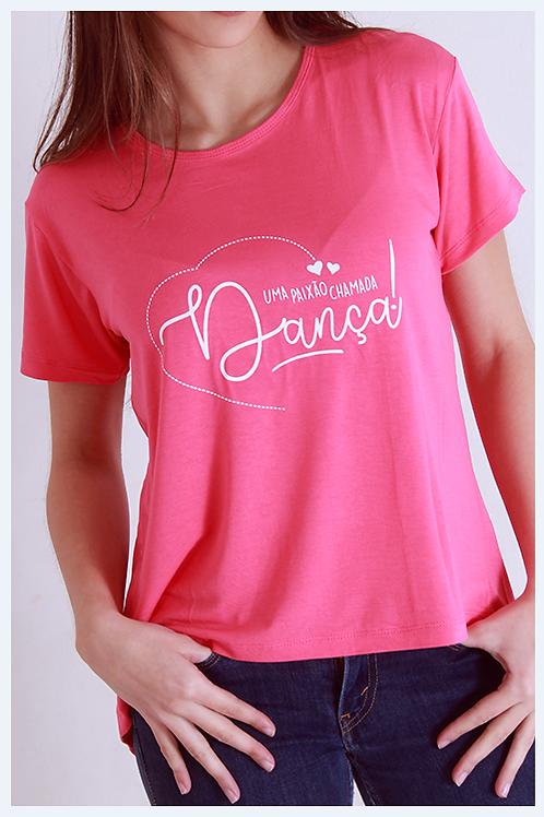 """Blusa Costas Aberta """"Uma paixão chamada dança"""""""