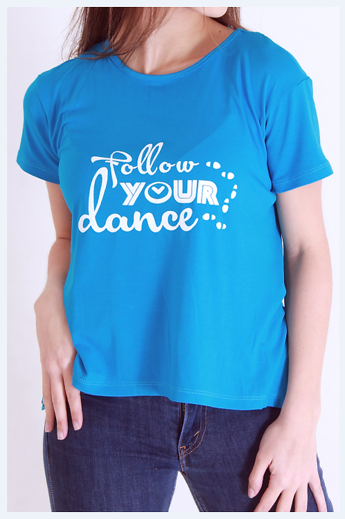 "Blusa costas aberta ""Follow your dance"""