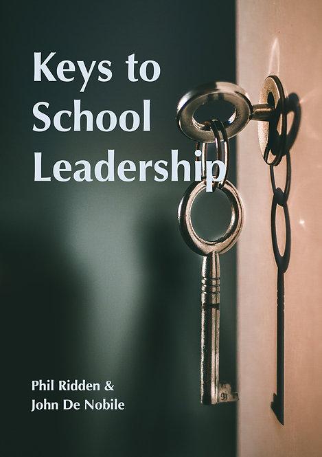 KEYS TO SCHOOL LEADERSHIP (ebook)
