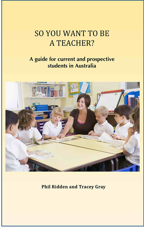 SO YOU WANT TO BE A TEACHER? (ebook)