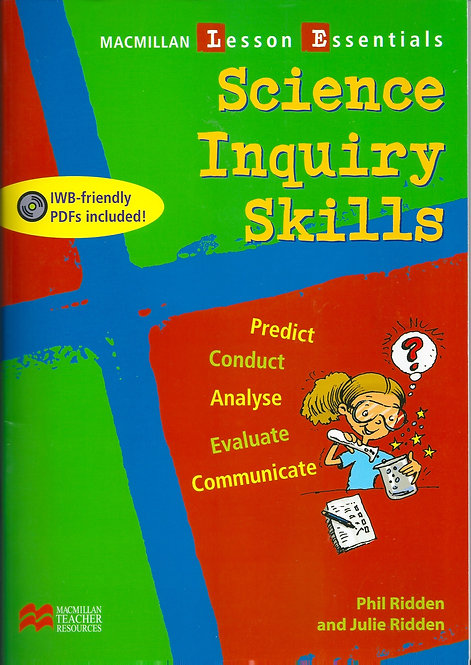 SCIENCE INQUIRY SKILLS (Paperback plus DVD of pdfs)