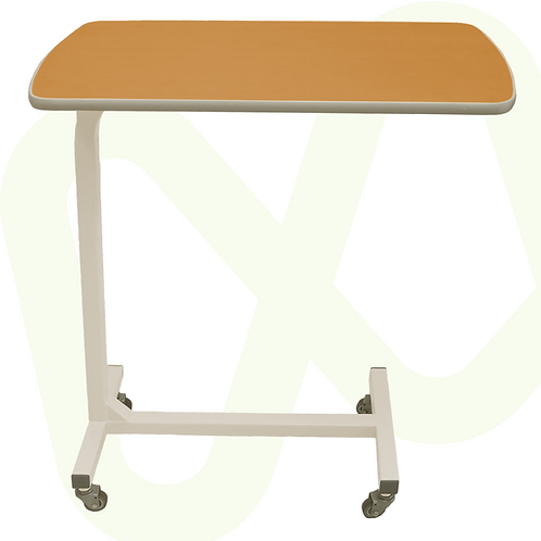 Adjustable Overbed Table with Wood Veneer Surface Ref.8446