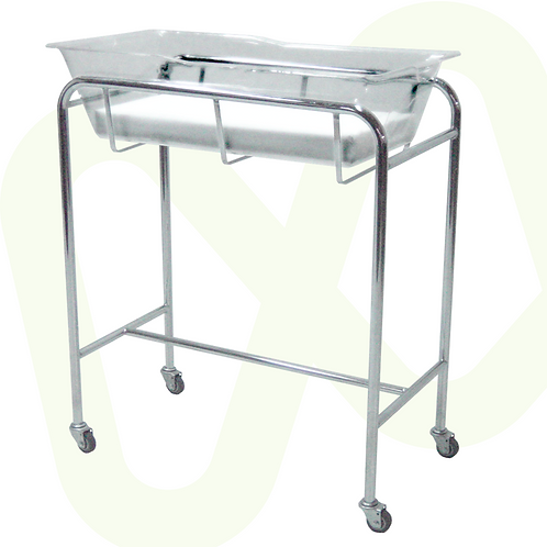 Stainless Steel Bassinet for Neonate Ref. 313902