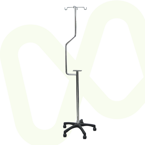 Stainless Steel infusion Pump Stand  Ref. 2129