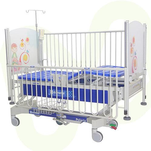 Cama cuna eléctrica para pediatría