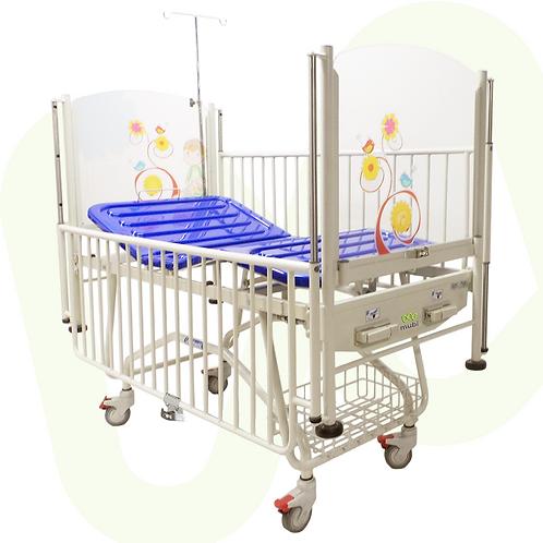 Cama cuna mecánica para pediatría