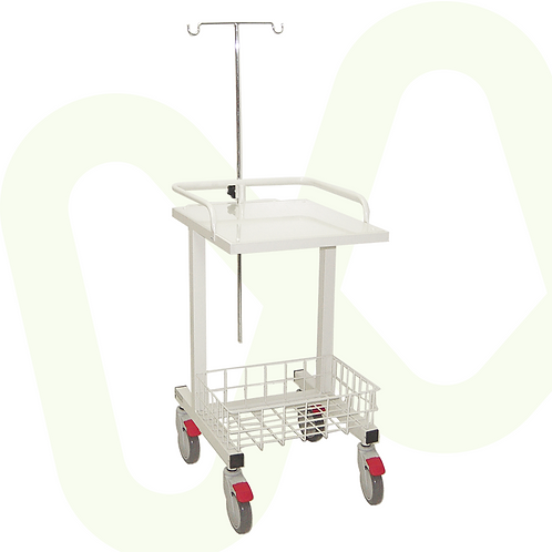 Electrocardiogram (ECG / EKG) Cart without Drawers Ref.8228
