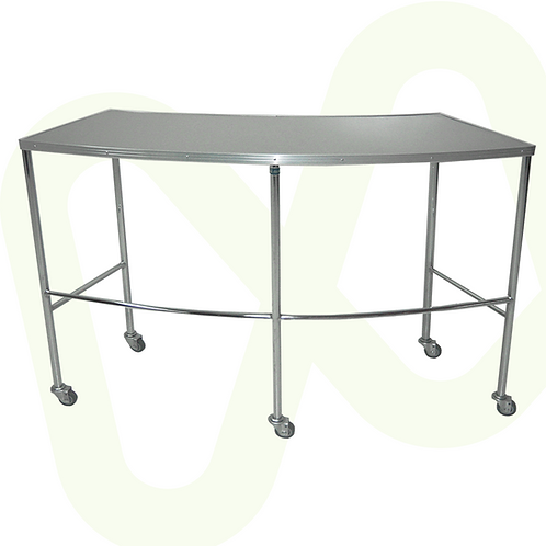 Stainless Steel Kidney Shaped Table Ref.8790
