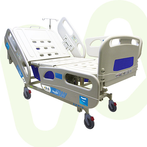 Electric Hospital Bed Lynix Full Length Siderails Individual Lock Ref.358101