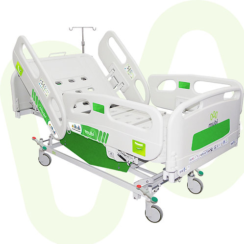 Electric Hospital Bed Lynix Full Length Siderails Central Lock Ref. 358103