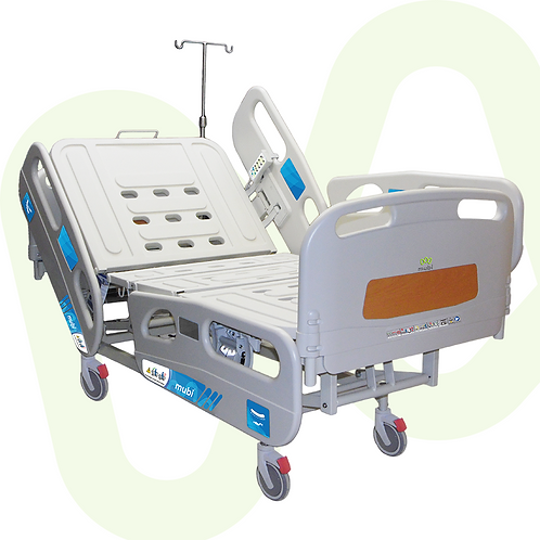 Electric Hospital Bed Quaxar Full Length Siderail Individual Lock Ref. 357001