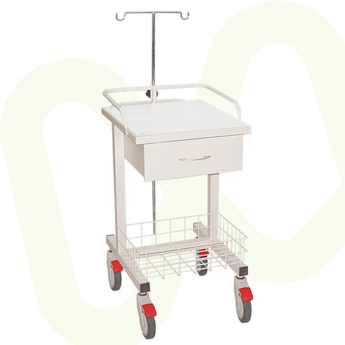 Electrocardiogram (ECG / EKG) Cart with Drawers Ref.8126