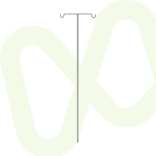 Fixed IV Pole Ref.730-30