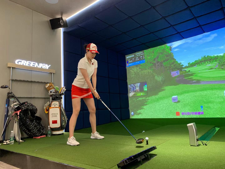 Indoor Golf Simulators & Swing Analyze