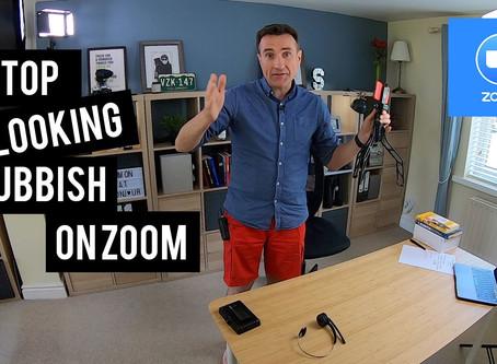 Stop looking rubbish on Zoom (or Teams. Or Google Hangouts.)
