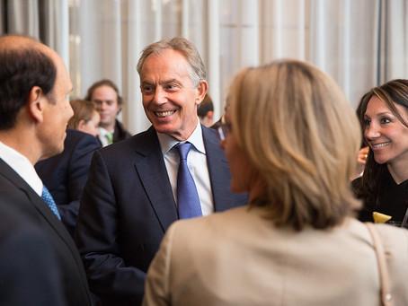 Corinthia Hotel with Tony Blair (Oct 2015)