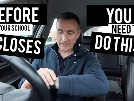 Before school closes you *need* to do this (important)