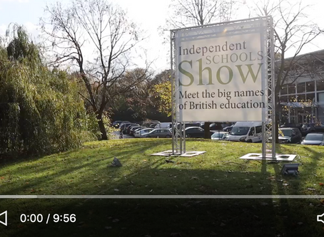 Is the Independent Schools Show worth the cost? I find out...