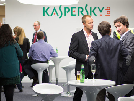 Corporate Photography for Kaspersky event in London (Mar 2014)