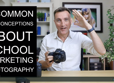 3 common misconceptions (school marketing photography)