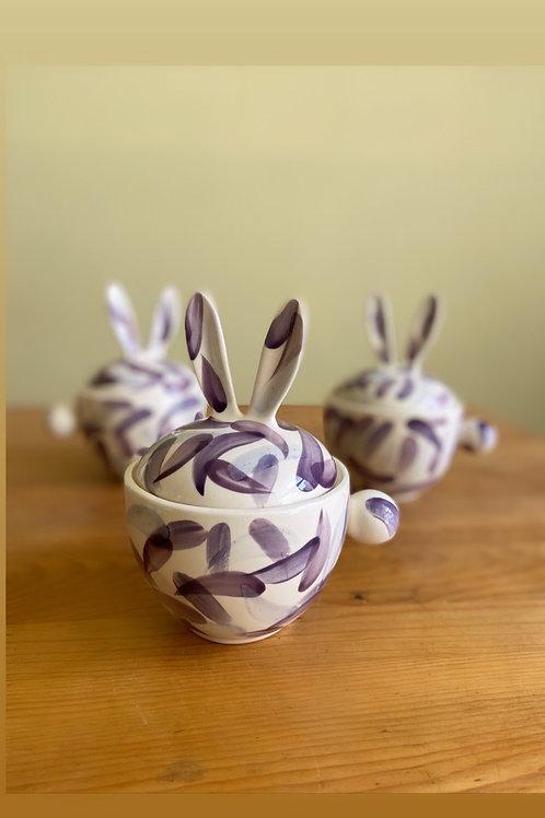 Taza conejote (morados)