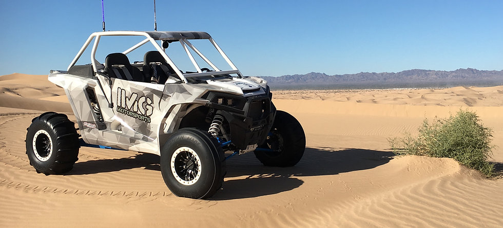 IMG motorsports Polaris RZR XP Turbo Dune Custom