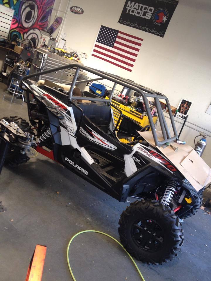 IMG Motorsports custom RZR 1000 buil