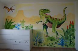 Dino svět v dětském pokoji