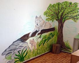 Vlci ve třídě základní školy