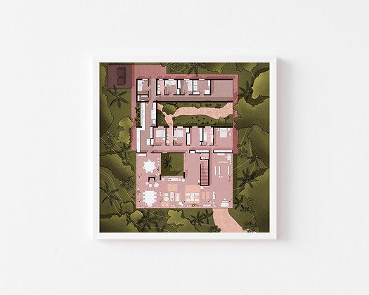 Casa de Vidrio Print