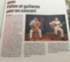 Article le journal de Millau 19 07 2018.