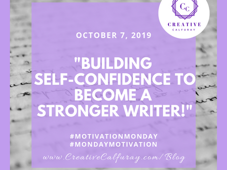 Building self-confidence to become a stronger writer