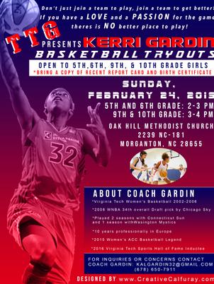 TTG Basketball Flyer