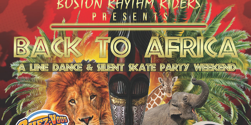 """The Boston Rhythm Riders """"Back To Africa"""" Line Dance Weekend"""