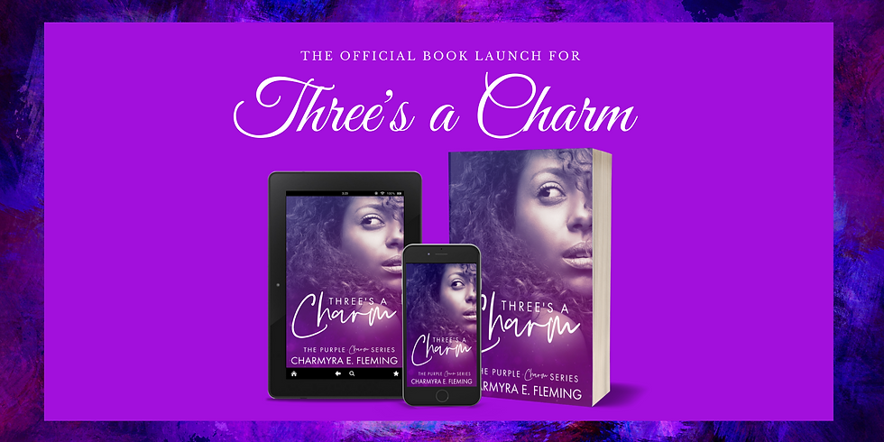 The Official Book Launch for 'Three's a Charm'