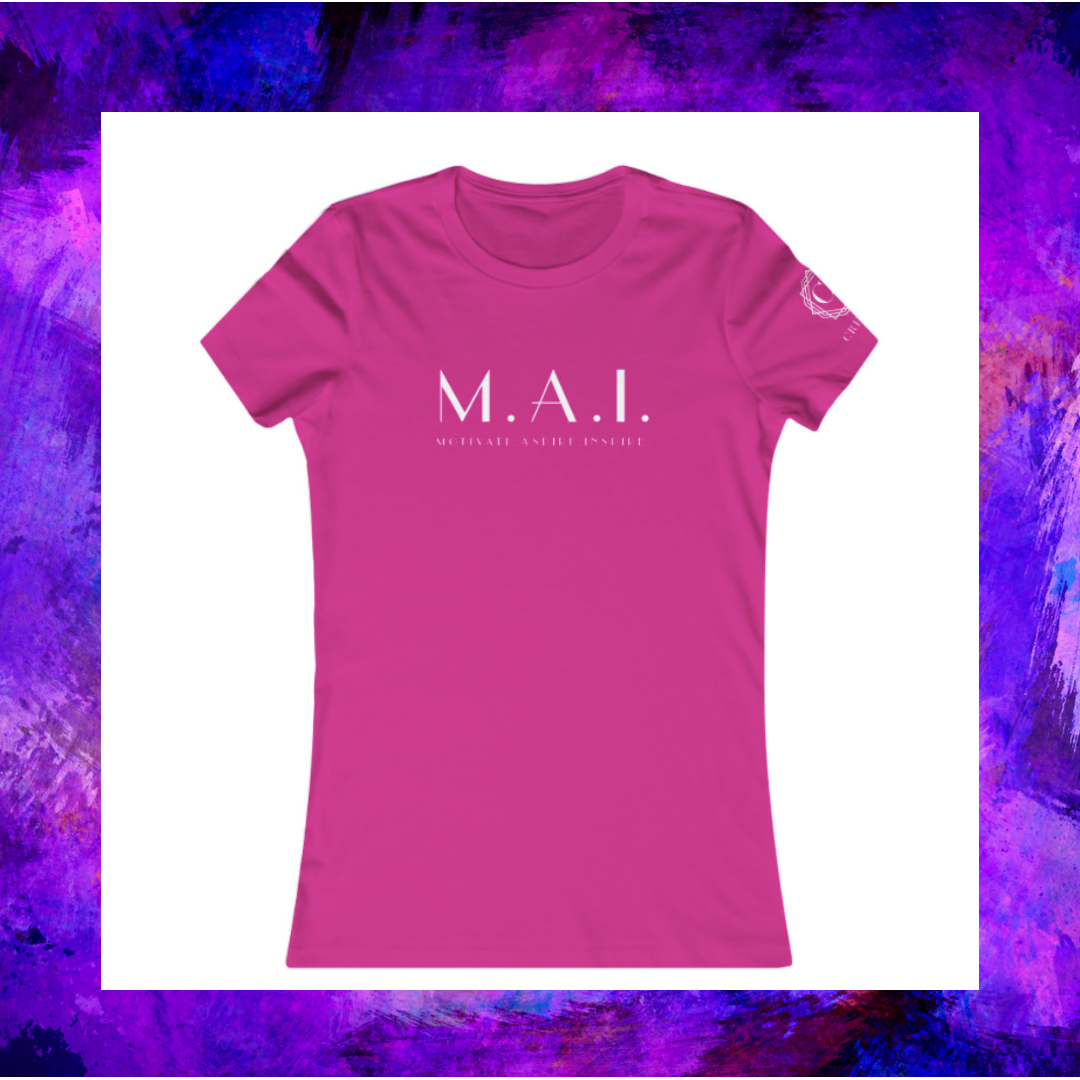 """This is the """"M.A.I."""" logo tee of Creative Calfuray."""