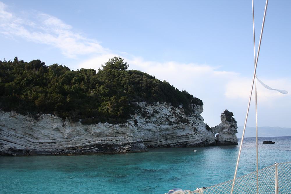Karibik-Bucht auf Antipaxos