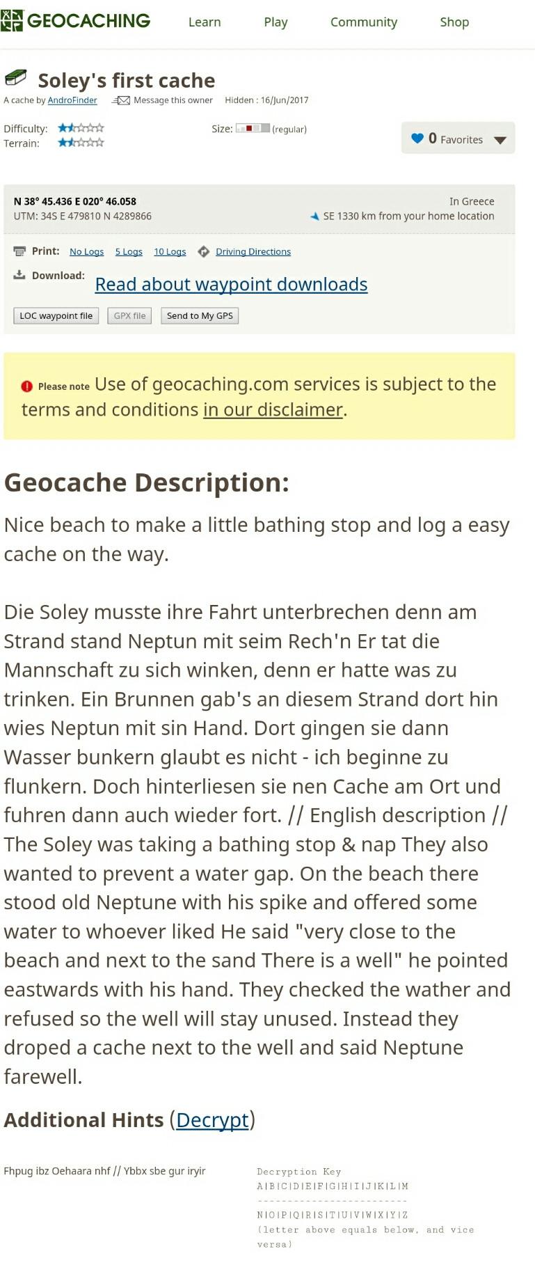 Unsere Schatzgeschichte in deutsch und englisch. Einfach fantastisch