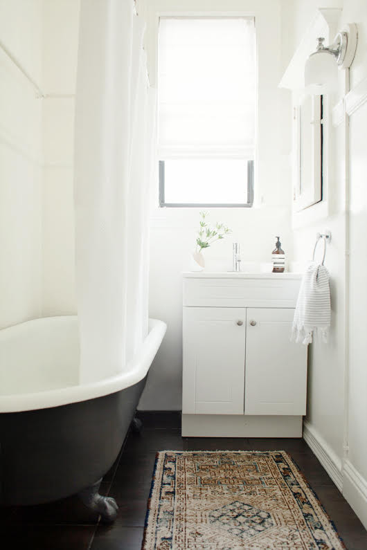 Bathroom Makeover - A Fresh Coat