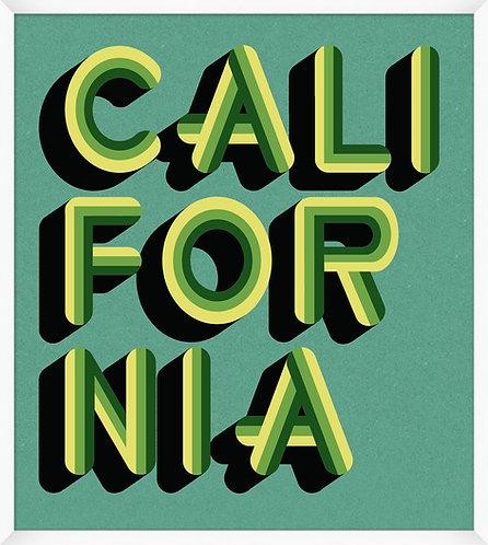 California Teal & Green